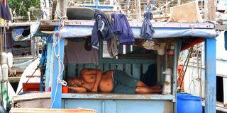 SleepingFishermanMalaysia